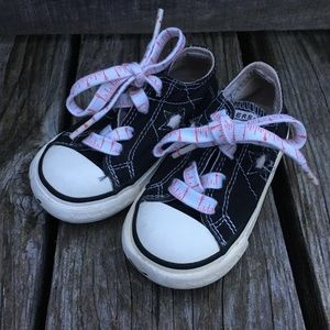 🆕List! Black Toddler Converse One-Star Sneakers!
